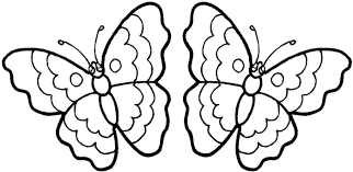 Butterfly Pages Page With