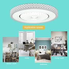 AUGIENB Nest Large LED Ceiling Light Flush Mount Down Fixture Pendant Lamps With Eye Protection For Home Bedroom Living Room KitchenWhite 2500LM 32W