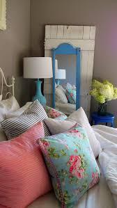 Mix Patterns In A Vintage Bedroom