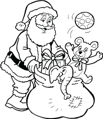 Coloring Sheet Santa Hat Printable Pages Claus Games Girl Full Size