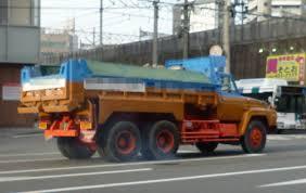 100 Nissan Diesel Truck TW50LD Dump Truck NISSANUD Classic Japan 50s