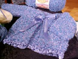 how to knit a sweater for a baby hgtv