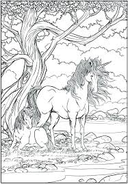 Unicorn Coloring Page Pages For Adults Your Design Baby Printable
