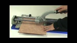 how to use a tile cutter youtube