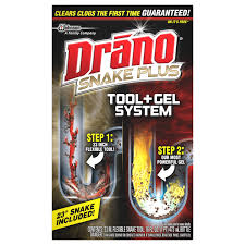 Unclogging A Bathtub Drain With A Snake by Drano Snake Plus Tool Gel System Walmart Com