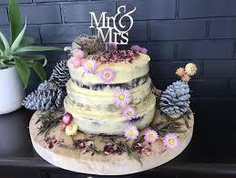 Rustic Wedding Cakes Birthday Brisbane Region