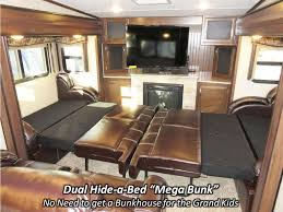 5th Wheel Campers With Bunk Beds by 2017 Keystone Montana High Country 381th Fifth Wheel Coldwater Mi