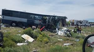 100 Nearby Truck Stop 7 Dead In New Mexico Bustruck Crash State Police Say