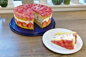 erdbeer sahne schmand torte