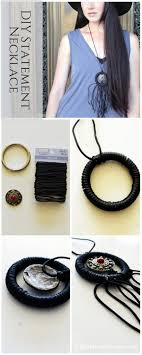 Make This DIY Statement Boho Fringe Necklace Full Step By Tutorial