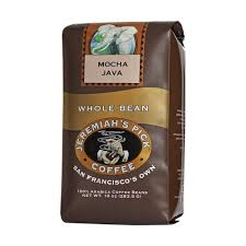 Jeremiahs Pick Coffee Mocha Java Whole Bean 10 Ounce Bags Pack Of