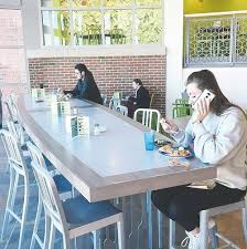 UNH Says 17570 Table In Dining Hall Was A Mistake
