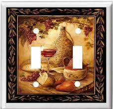 Tuscan Wine Grapes I Italian Kitchen Theme Decor Square Coaster Set Of 4