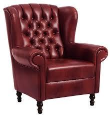 crosby einzelsessel chesterfield sessel einzelsofa leder rot günstig möbel küchen büromöbel kaufen froschkönig24