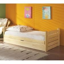 chambre enfant pin lit enfant pin massif 90x190 bois cir miel made in meubles 12 en
