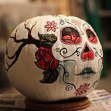 Sugar Skull Pumpkin Carving Patterns by Best 25 Sugar Skull Pumpkin Stencil Ideas On Pinterest Sugar