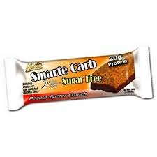 Nugo Nutrition Bar Smarte Carb Peanut Butter Crunch 176 Oz Case 12