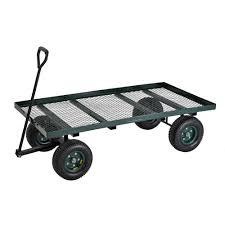 Sandusky 7 cu ft 36 in W Utility Cart FW6036 The Home Depot