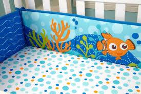 Finding Nemo Bathroom Theme by Disney Finding Nemo Traditional Padded Crib Bumper U0026 Reviews Wayfair