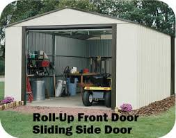 vinyl murryhill 12x10 arrow outdoor metal shed kit vt1210