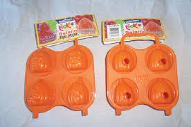 Halloween Jello Molds by Orange Pumpkin Gelatin