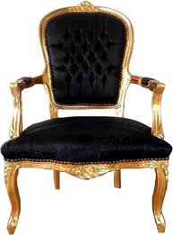 casa padrino baroque salon chair black pattern gold 60 x 50 x h 93 cm handcrafted antique style chair with satin fabric baroque style