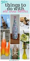 Decorative Wine Bottles Crafts by 30 Things To Do With Old Wine Bottles Wine Bottle Crafts Diy