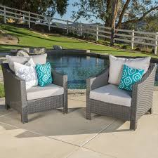 Premium Poly Patios Complaints by Andover Mills Wolfhurst Wicker Club Chair With Cushion U0026 Reviews
