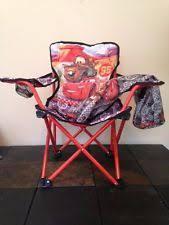 disney pixar cars toddler folding portable saucer chair mater