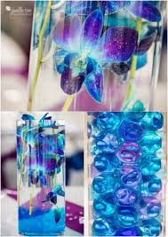 Fancy Blue And Purple Wedding Decor 97 For Table Centerpiece Ideas With