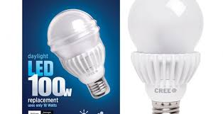 cree 100w led bulb aims to snuff out incandescents slashgear
