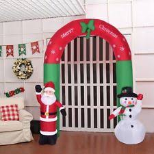 Halloween Inflatable Archway Tunnel by Inflatable Archway Holiday U0026 Seasonal Ebay