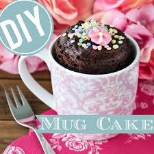 easy mug cake tassen kuchen tassenkuchen