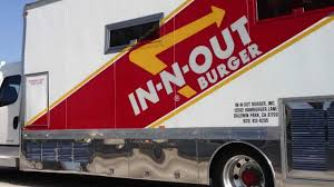 100 In N Out Burger Truck IOUT In Los Angeles California YouTube