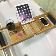 Bamboo Bath Caddy Uk by Bamboo Bath Board Bath Bridge Bath Caddy Bath Rack Bathroom Wine
