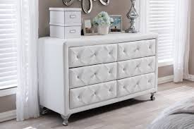 Baxton Studio Shoe Storage by Wholesale Interiors Baxton Studio 6 Drawer Double Dresser