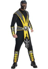 Mortal Kombat Arcade Machine Uk by Mortal Kombat Scorpion Costume Mortal Kombat Fancy Dress