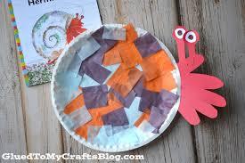 Halloween Hermit Crab by Paper Plate Hermit Crab Kid Craft