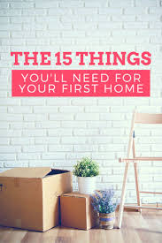 Best 25 First Home Essentials Ideas Only