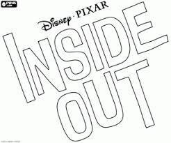 Inside Out Logo Coloring Pages Sketch Page