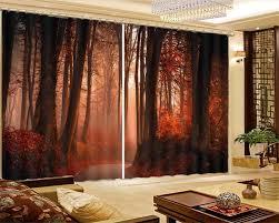 ستائر تعتيم من vorhang schlafzimmer لعام 2019 ستائر لغرفة المعيشة والمناظر الطبيعية في الغابات ستائر أوروبية للشباك الستائر naoko