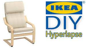 Poang Chair Cover Diy by Ikea Diy Timelpase Poäng Kids Chair Youtube