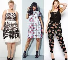 Stylish Plus Size Outfit Ideas For Summer 2014 Floral Prints