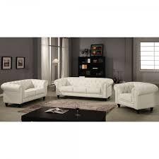 canap simili cuir 2 places canapé chesterfield blanc capitonné en simili cuir 2 places