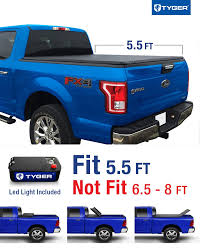 Tyger Auto TG-BC3F1041 TRI-FOLD Truck Bed Tonneau Cover 2015-2018 ...