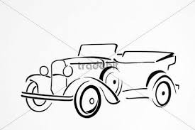 Vintage Car Drawing Artist Gerhard Kraus Kriftel