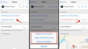 How To Your Location in iMessage on iPhone