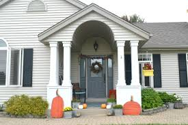 Outdoor fall home tour keeping things traditional • Our House Now