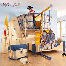 The Little Boyu0027s Pirate Bedroom