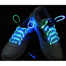 multi color 3 modes optical fiber led shoelaces light up shoe